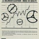 1967 Glucydur FBR Fabriques de Balanciers Reunies SA 1967 Swiss Ad Suisse Advert Horology Horlogerie
