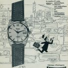 1960 Precimax Watch Company Neuchatel Switzerland Vintage 1960 Swiss Ad Suisse Advert Horlogerie