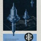 ASFP Switzerland Vintage 1964 Swiss Ad Suisse Advert Horlogerie Horology