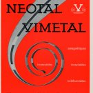 1964 Neotal Vimetal S.A. Geneva Switzerland 1964 Swiss Ad Suisse Advert Horology Horlogerie