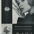 1964 Bueche-Girod Watch Company Switzerland Vintage 1964 Swiss Ad Suisse Advert Horlogerie Horology