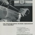 1964 Aureole Watch Company Switzerland Vintage 1964 Swiss Ad Suisse Advert Horlogerie Horology