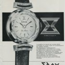 1964 Edox Watch Company Ruefli-Flury & Co. Era Watch Co. Vintage 1964 Swiss Ad Suisse Advert