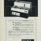 1965 Greiner Electronic S.A. Langenthal Switzerland 1965 Swiss Ad Suisse Advert Horlogerie Horology
