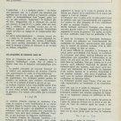 Defossez Le Balancier Sans Vis Vintage 1965 Swiss Magazine Article Horlogerie Horology