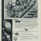 1965 Rodi & Wienenberger AG RoWi Vintage 1965 Swiss Ad Suisse Advert Horlogerie