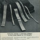 1965 Jacoby-Bender Watch Band Company J-B Champion 1965 Swiss Ad Suisse Advert Horlogerie Horology