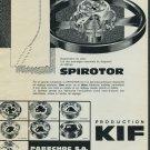 1965 KIF Spirotor Parechoc SA 1965 Swiss Ad Suisse Advert Horlogerie Horology