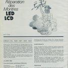 1976 Reparation des Montres LED LCD Omega 1600-1603 Girard Perregaux 396 Bulova Computron 229