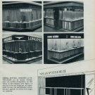 1963 Foire de Bale Swiss Watch Fair Window Display Photos 1963 Swiss Magazine Clipping Horlogerie