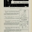1958 Swiss Horology Inventions Patents Suisse Horlogerie Vintage 1958 Swiss Magazine Article