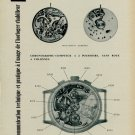1958 Le Landeron Watch Company Communication Technique Swiss Magazine Article Horlogerie Horology