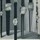 1962 Royce Watch Company S. Kocher & Co. Switzerland 1962 Swiss Ad Suisse Advert Horlogerie Horology