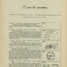 1957 Swiss Horology Inventions Patents Brevets Horlogerie 1958 Swiss Article Suisse Switzerland