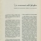 1958 Un Recouvrement Nickel-Phosphore 1958 Swiss Magazine Article by R. Boolky