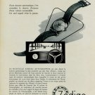 1953 Zodiac Watch Company Zodiac Autographic Advert Vintage 1953 Swiss Ad Suisse Advert Horlogerie