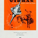 1953 EMO SA Vibrax Switzerland Vintage 1953 Swiss Ad Suisse Advert Horlogerie Horology