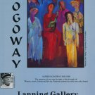 1991 Alfred Rogoway Women of the Valley 1991 Art Ad Advert Advertisement