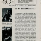 1953 Cyma Watch Company Tavannes Apres 50 Ans 50 Years Vintage 1953 Swiss Magazine Article Suisse