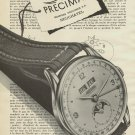1951 Precimax Watch Company Switzerland Vintage 1951 Swiss Ad Suisse Advert Horlogerie Horology