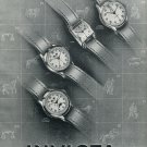 1951 Invicta Watch Company Switzerland Vintage 1951 Swiss Ad Suisse Advert Horlogerie Horology