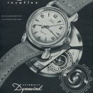 1951 Wyler Watch Company Wyler Dynawind Advert Vintage 1951 Swiss Ad Suisse Advert Horology