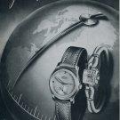 1951 Recta Watch Company Switzerland Vintage 1951 Swiss Ad Suisse Advert Horlogerie Horology