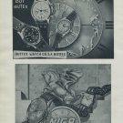 1951 Niga Watch Company G Gagnebin & Co BWC Butex Watch Company 1951 Swiss Ad Suisse Advert