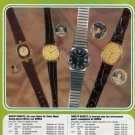 Ronda Watch Company Switzerland Harley Quartz Advert 1980 Swiss Ad Suisse Advert Horlogerie Horology