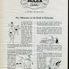 1946 Rolex Watch Company 40th Anniversary Vintage 1946 Swiss Ad Suisse Advert Horlogerie Horology