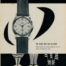 1955 Prexa Watch Company Le Locle Switzerland Vintage 1955 Swiss Ad Suisse Advert