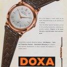 1954 Doxa Watch Company Doxa Conquistador Advert Vintage 1954 Swiss Ad Suisse Advert Horlogerie