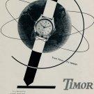 1953 Timor Watch Company Switzerland Vintage 1953 Swiss Ad Suisse Advert Trust Timor