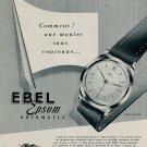 1953 Ebel Watch Company Switzerland Ebel Epson Ad Vintage 1953 Swiss Ad Suisse Advert Horlogerie