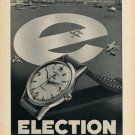 1954 Election Watch Company Grand Prix Switzerland Vintage 1954 Swiss Ad Suisse Advert Horology