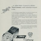 1953 Tissot Watch Company 100 Year Anniversary Vintage 1953 Swiss Ad Suisse Advert Switzerland