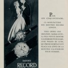 1953 Record Watch Company Record Datofix Ad Vintage 1953 Swiss Ad Suisse Advert Horlogerie Horology
