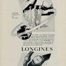 1953 Longines Watch Company Switzerland Vintage 1953 Swiss Ad Suisse Advert Horlogerie