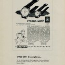 1953 Eterna Watch Company Eterna Matic Ad Vintage 1953 Swiss Ad Suisse Advert Switzerland