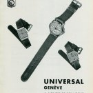 1939 Universal Geneve Watch Company Switzerland Vintage 1939 Swiss Ad Suisse Advert Horology