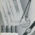 1939 Ebel Watch Company La Chaux-de-Fonds Switzerland Vintage 1939 Swiss Ad Suisse Advert Horology
