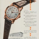 1955 Doxa Watch Company Montres Doxa SA Switzerland Vintage 1955 Swiss Ad Suisse Advert