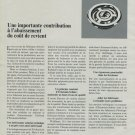 1969 Erismann-Schinz SA Company Switzerland Vintage 1969 Swiss Ad Suisse Advert Horlogerie Horology