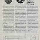 1969 Portescap Company Le Systeme de Force Constante 1969 Swiss Magazine Article