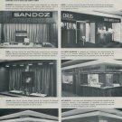 1969 Reflets Stands a la Foire de Bale 1969 Swiss Magazine Clipping Horlogerie Horology