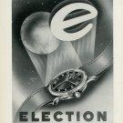 1949 Election Watch Company Switzerland Vintage 1949 Swiss Ad Suisse Advert Horlogerie