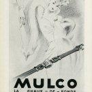 1949 Mulco Watch Company La Chaux-de-Fonds Switzerland Vintage 1949 Swiss Ad Suisse Advert
