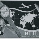 1949 Butex Watch Company Buttes Watch Company Switzerland Vintage 1949 Swiss Ad Suisse Advert