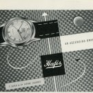 1949 Hafis Watch Company F. Suter & Cie Bienne Switzerland Vintage 1949 Swiss Ad Suisse Advert