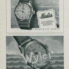 1944 Hafis Watch Company F Suter & Cie Wyler Watch Co. Switzerland 1944 Swiss Ad Suisse Advert